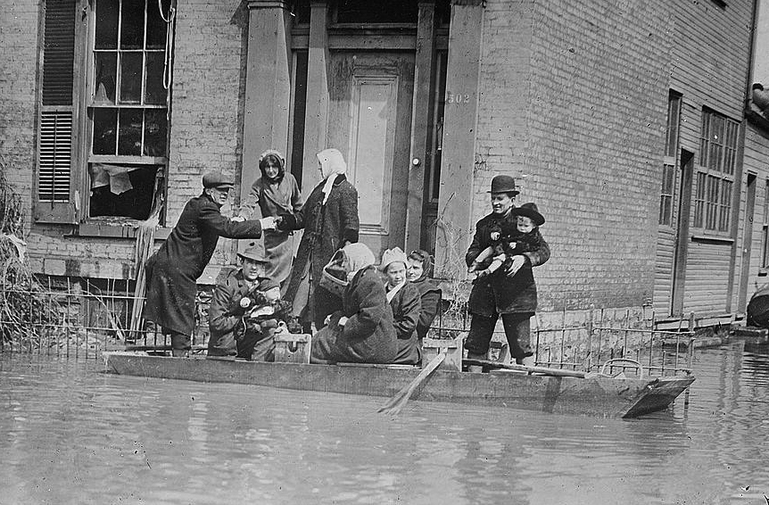 Rescue Work - Dayton (Bain News Service, Publisher)