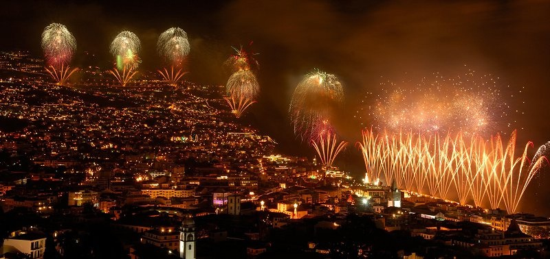 New Year's Fireworks photo by Madeira Algarve