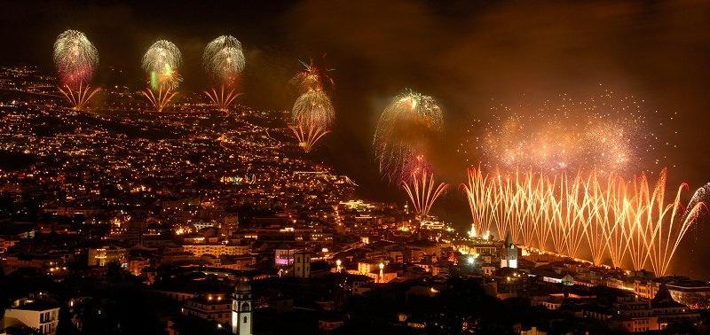 New Year's Fireworks photo by Madeira Algarve