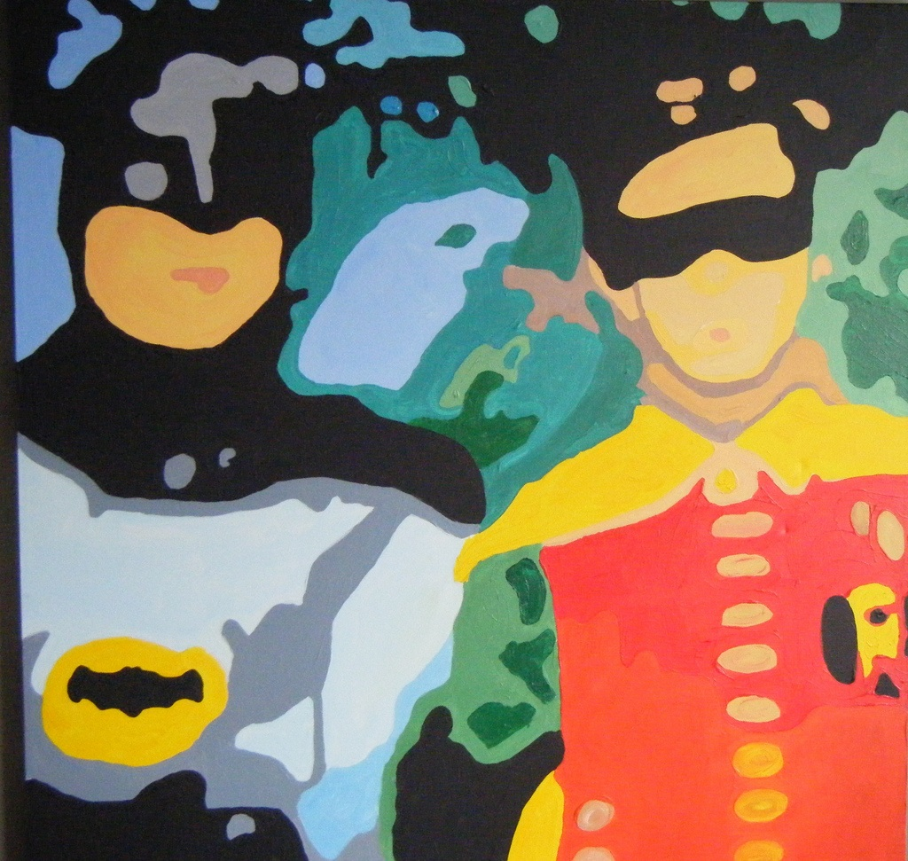 Batman and Robin by MrSchuReads