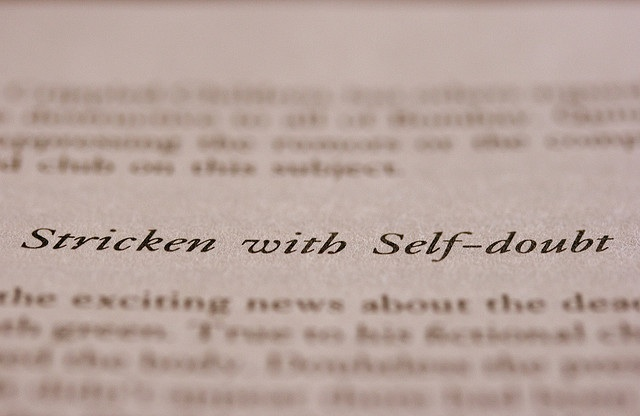 Stricken With Self-Doubt by Just.Luc