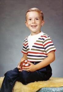 Lafayette Wattles as a Boy