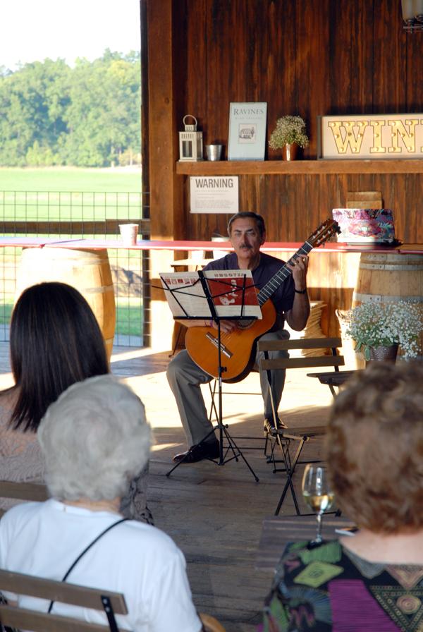 Gerald Stulc Playing Classical Guitar