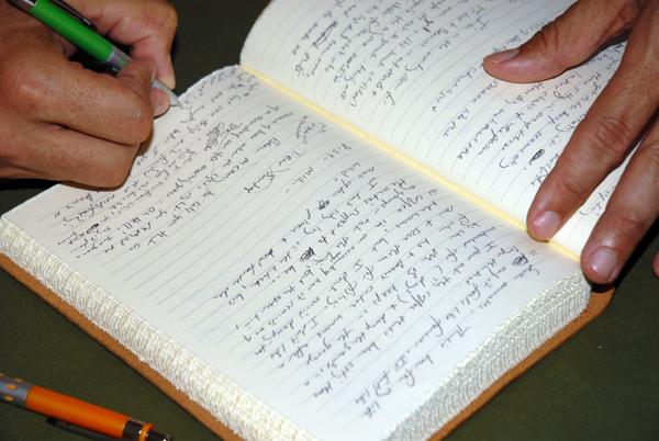 Lafayette Wattles Writing
